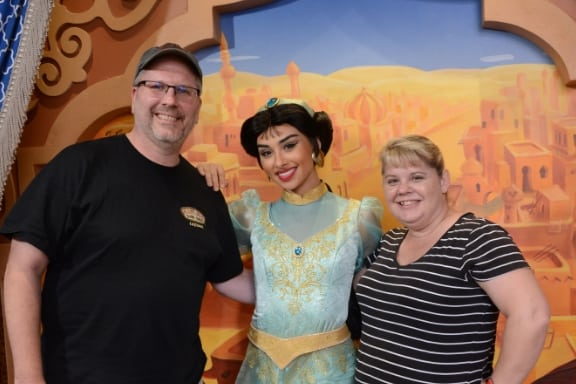 Meeting Jasmine in Morocco Pavilion