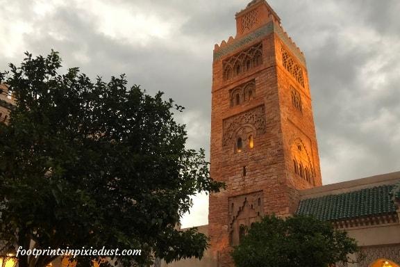 Morocco Pavilion in Epcot