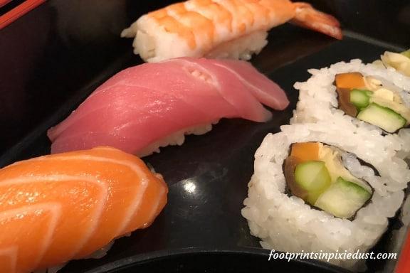 Sushi at Tokyo Dining ~ Photo credit: Tina M. Brown