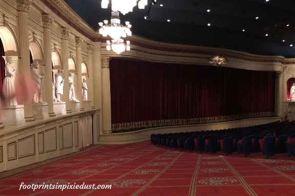 Theater where American Adventure theatrical presentation is performed