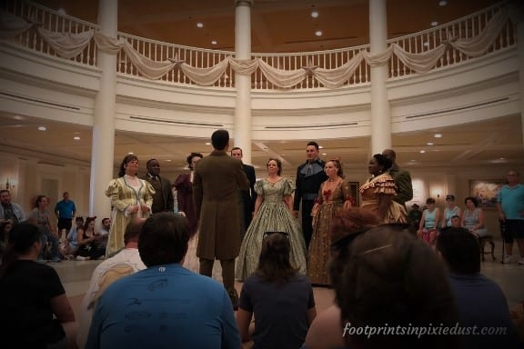 Voices of Liberty at the American Adventure in Epcot