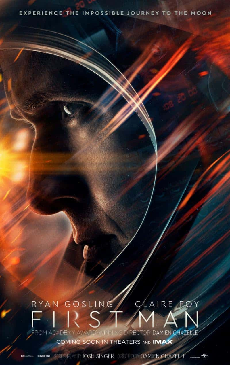 First Man Poster ~ courtesy of Universal Pictures