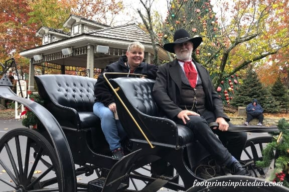 Carriage ride at Silver Dollar City