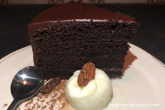 Chef Art Smith's Auntie's Chocolate Cake at Homecomin' Kitchen