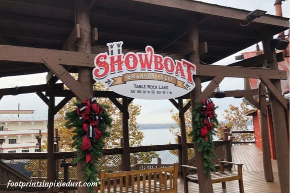 Entrance to Showboat Branson Belle