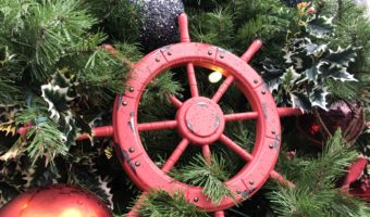 Ornament on Christmas Tree at Showboat Branson Belle