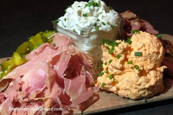 asper Board at Chef Art Smith's Homecomin' Kitchen