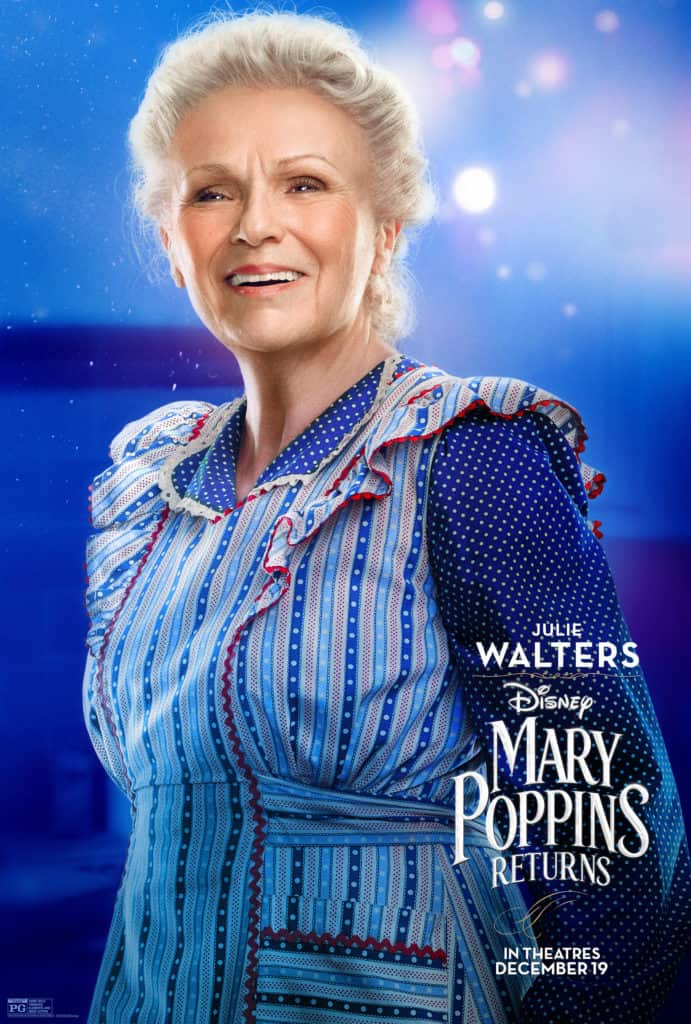 Julie Walters in Mary Poppins Returns