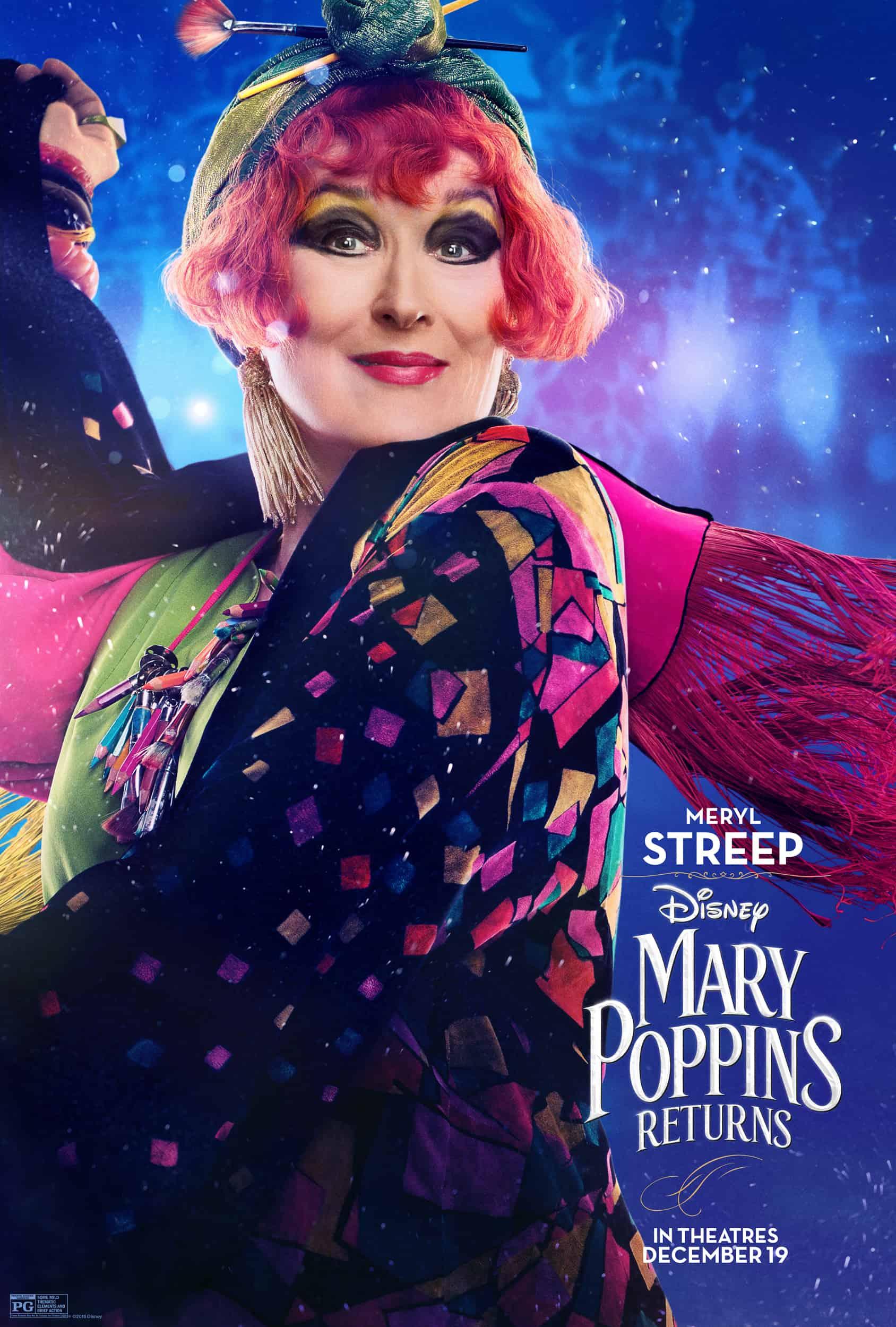 Meryl Streep in Mary Poppins Returns