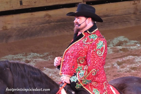Master of Ceremonies for Christmas at Dolly Parton's Stampede Dinner Attraction