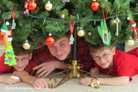 My three gifts under the Christmas tree