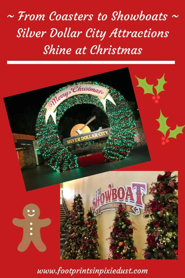 Silver Dollar City Attractions Shine at Christmas ~ #BloggingBranson #hosted #SilverDollarCity #Showboat #Branson #travel #exploreBranson #familytravel #ozarkmountainchristmas