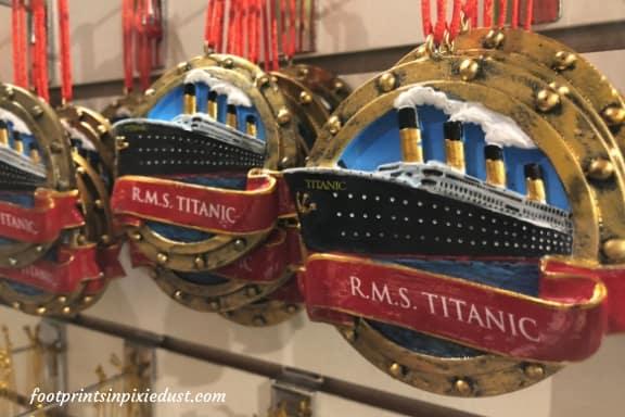 Titanic Museum ornaments