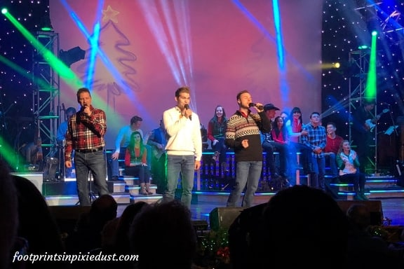 Third Power on stage with the Clay Cooper Christmas Express