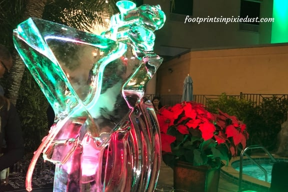 Ice Luge at Rosen Plaza