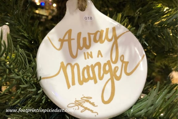 Ornament on tree at Branson IMAX Entertainment Complex