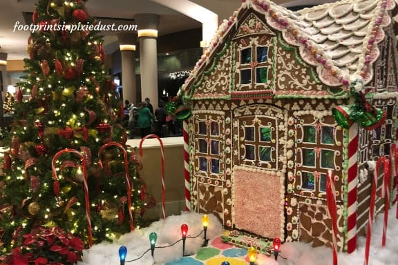 Rosen Centre Gingerbread House
