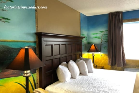 The Outback Room at Stone Castle Hotel