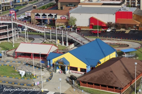 Tracks Family Fun Park - View from the Branson Ferris Wheel