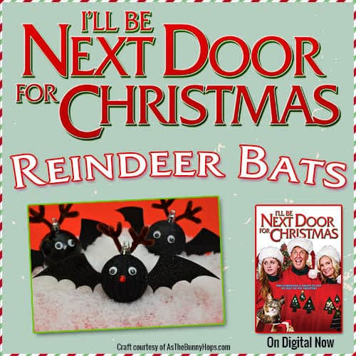 Reindeer Bat craft