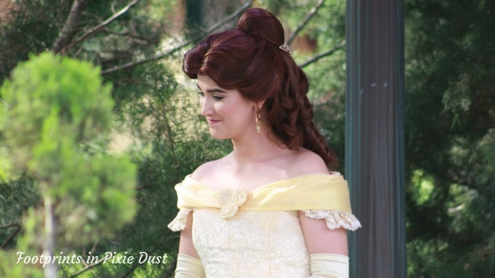 Dating Around World Showcase - Belle Character Meet and Greet