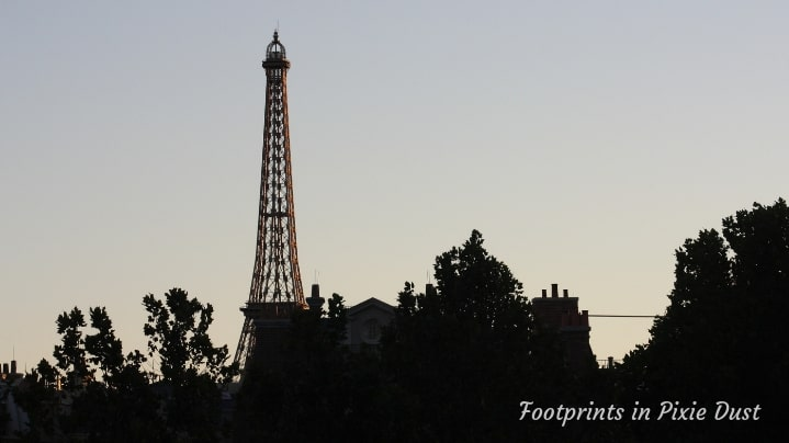 Dating Around World Showcase - Eiffel Tower in France Pavilion