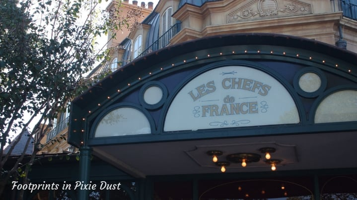 Dating Around World Showcase - Entrance to Chefs de France