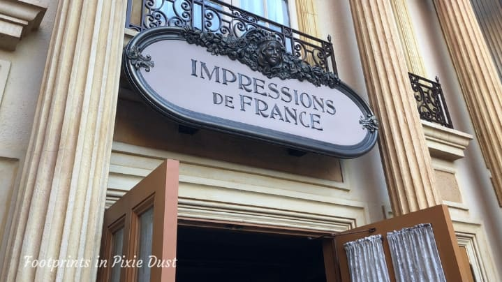Dating Around World Showcase - Entrance to Impressions de France