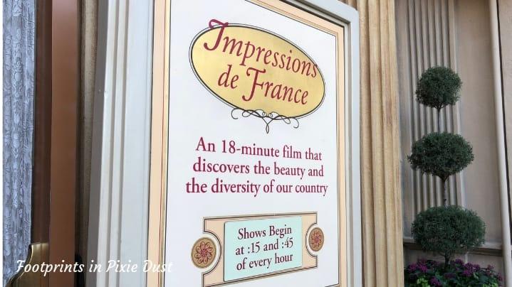 Dating Around World Showcase - Impressions de France