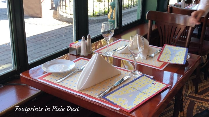 Dating Around World Showcase - Our seat at Chefs de France