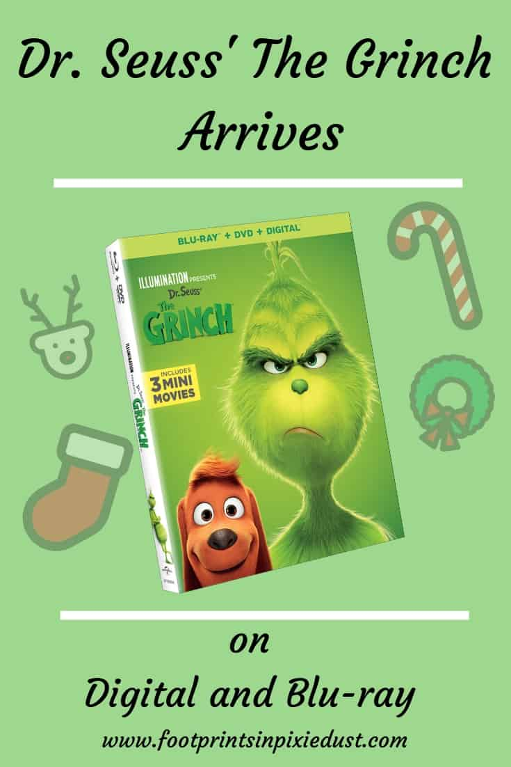 Dr. Seuss' The Grinch Review ~ #TheGrinch #moviereview #universal #gifted #footprintsinpixiedust #fpipd