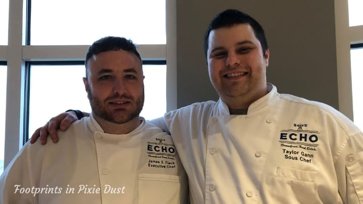 ECHO St. Simons - Chefs James and Taylor