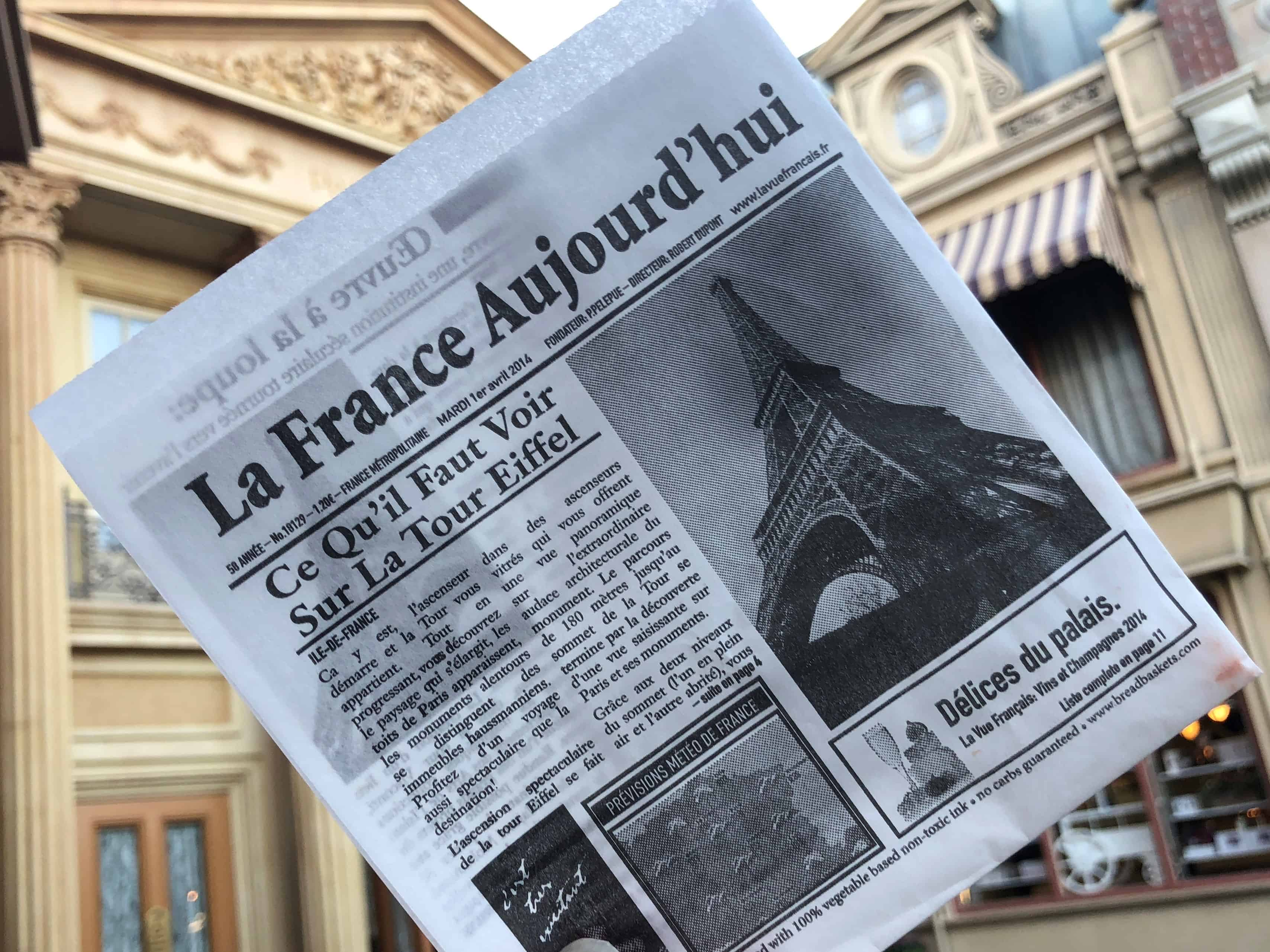 Dating Around World Showcase: Leaving Footprints in France · Footprints in Pixie Dust