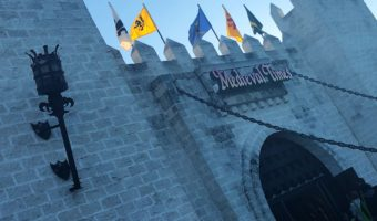 The Castle at Medieval Times in Orlando
