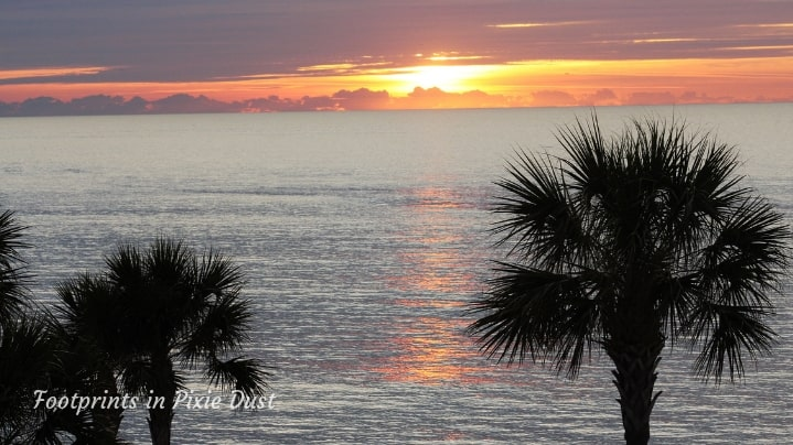 King and Prince Beach and Golf Resort - Sunrise over the Atlantic