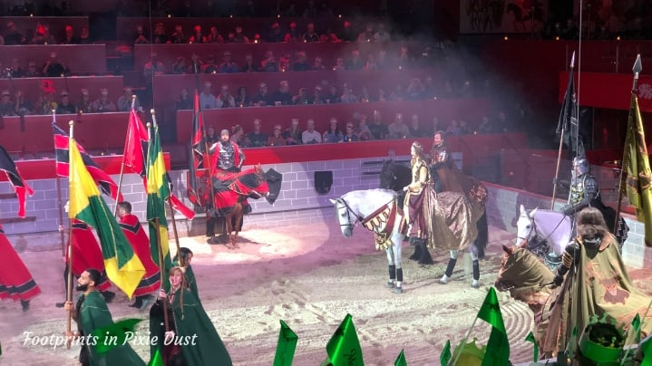 Medieval Times in Orlando - The Queen greets her guests