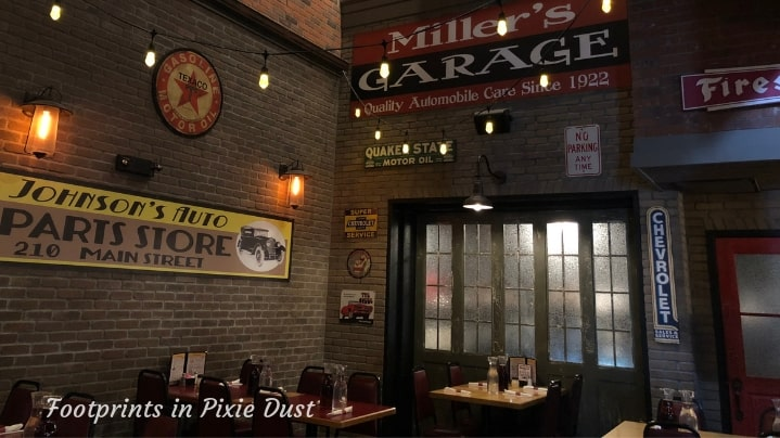 Pasghetti's Dining Area