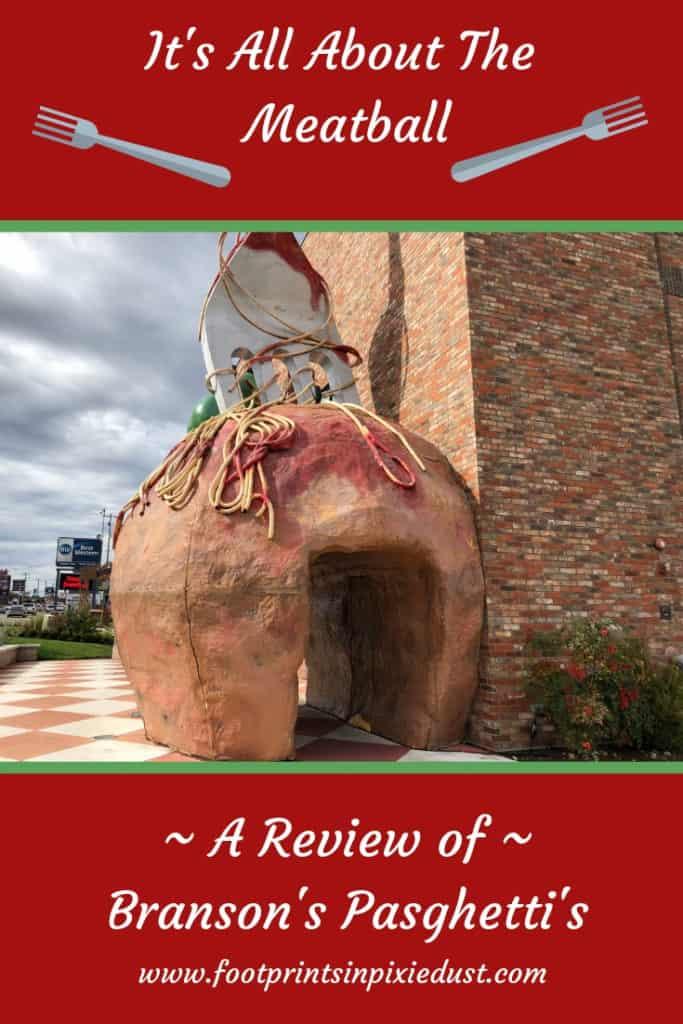 Review of Branson's Pasghetti's ~ #bloggingbranson #pasghettis #ozarkmountainchristmas #hosted #italiancuisine #1920snewyork #restaurant #restaurantreview #meatball #branson #explorebranson