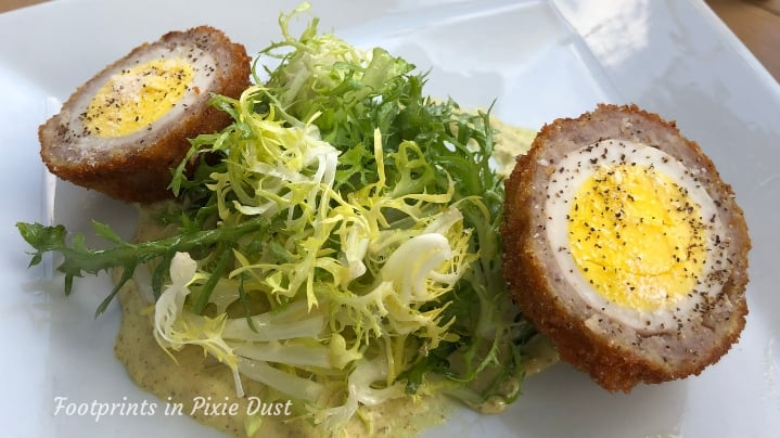 Rose and Crown Dining Room - Scotch Egg
