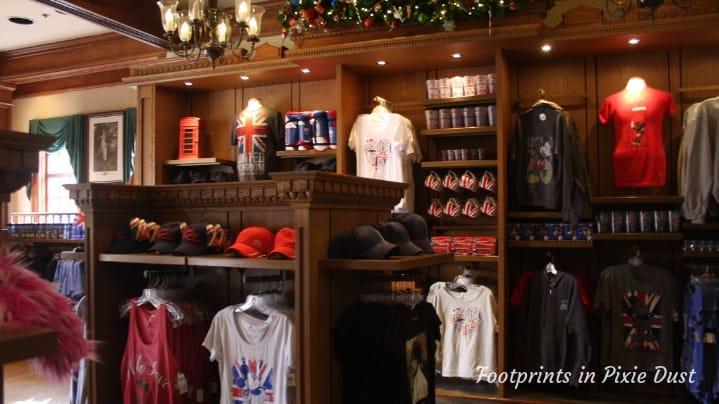 UK Pavilion - Merchandise