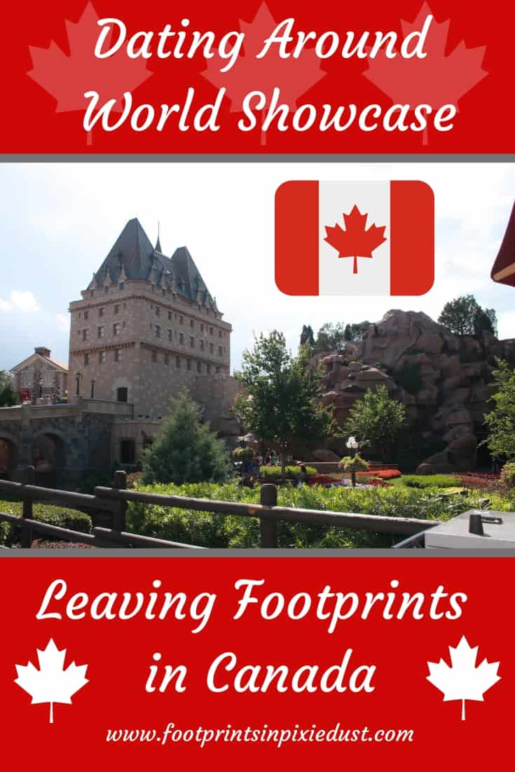 Dating Around World Showcase Canada ~ #disneysmmc #wdw #worldshowcase #footprintsatdisney #canada #disneycouple #disneylife #disneyside #lecellier #disneyfoodie #disneydate
