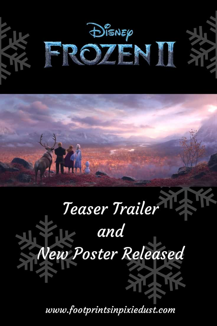 Frozen II Teaser Trailer and New Poster Released ~ #FrozenII #Frozen2 #disney #waltdisneyanimationstudios #disneyanimation #annaandelsa #teasertrailer