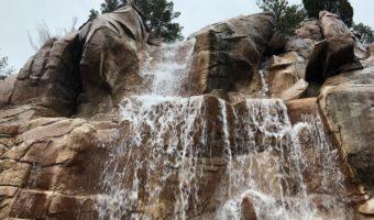 Canada Pavilion - Waterfall