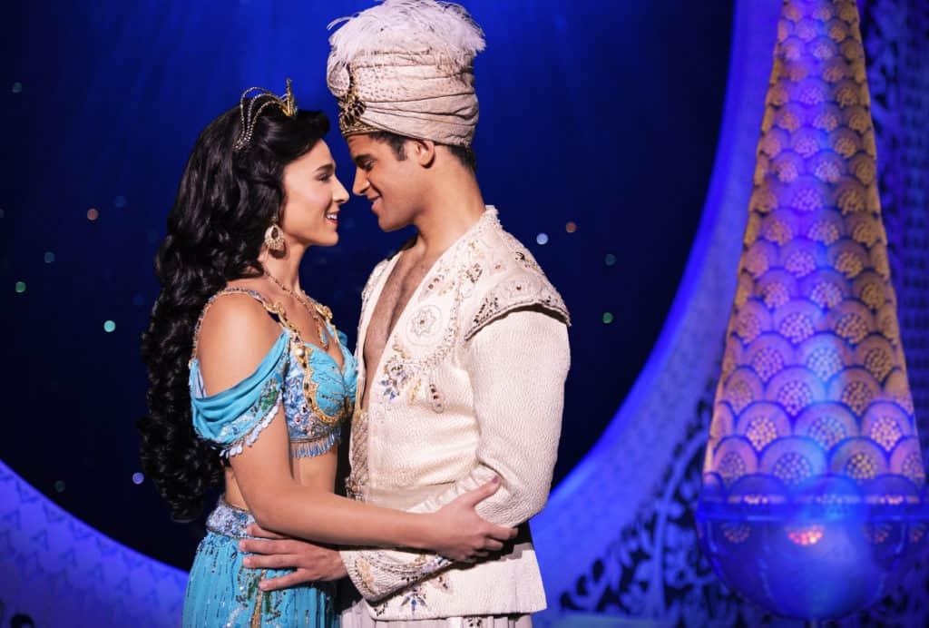 LissaClinton - Photo of Jasmine and Aladdin from Disney's Aladdin on Broadway