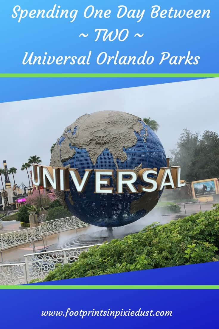 Spending One Day Between Two Universal Orlando Parks ~ #ReadyForUniversal #UniversalOrlando #vacation #travel #Florida #Orlando #footprintsinOrlando #wizardingworldofharrypotter #universalstudiosflorida #universalsislandsofadventure #themeparks