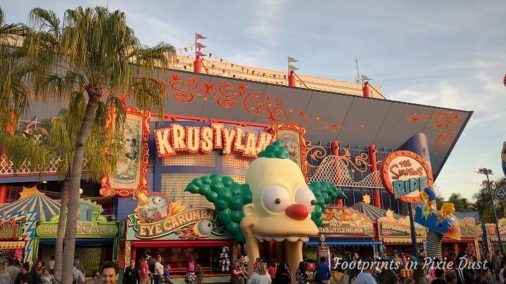 Universal Studios Florida - Springfield Home of the Simpsons, Krustyland
