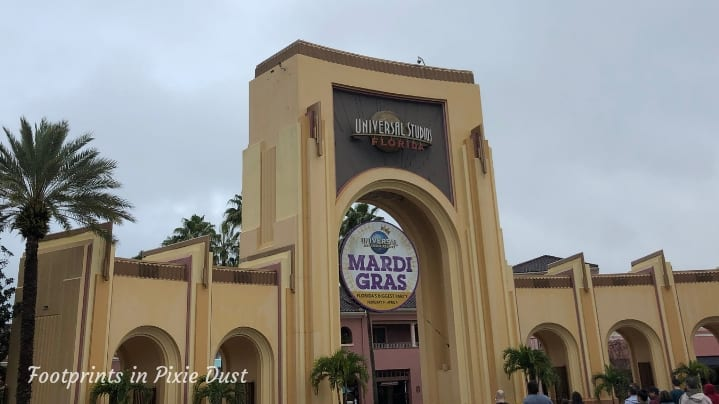 Universal Studios Florida park entrance