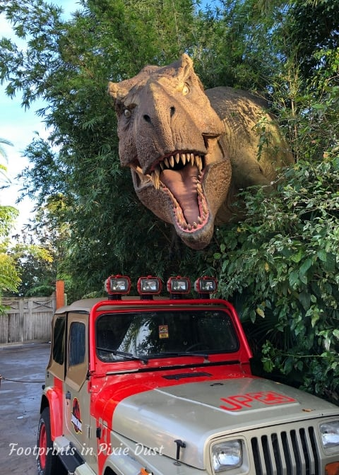 Universal's Islands of Adventure - Jurassic Park, T-Rex