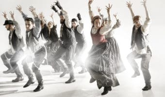 Dancers in Fiddler on the Roof