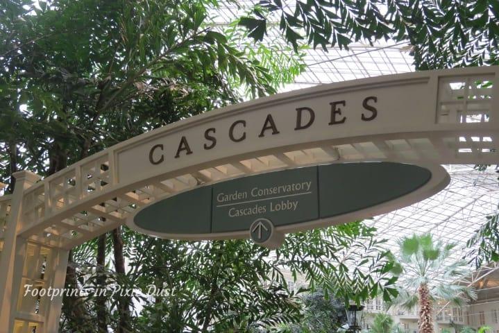 Gaylord Opryland Resort and Convention Center - Cascades Atrium arch